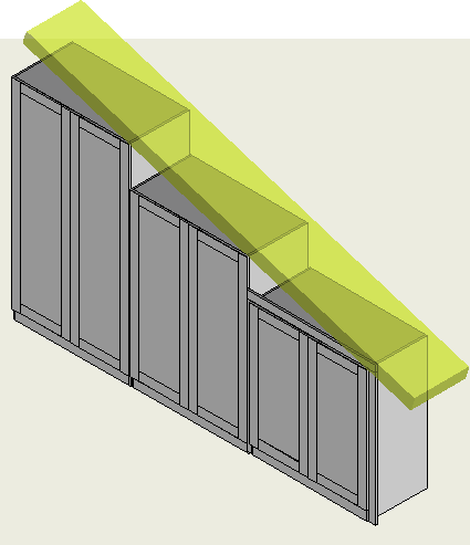 Sloping ceiling wardrobes