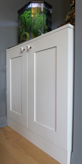 Primed Mdf Cupboards With Shaker Style Doors Part 2