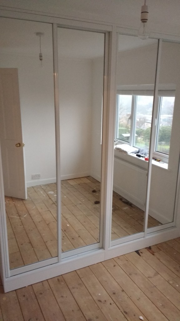 Sliding doors from doors direct.co.uk in place