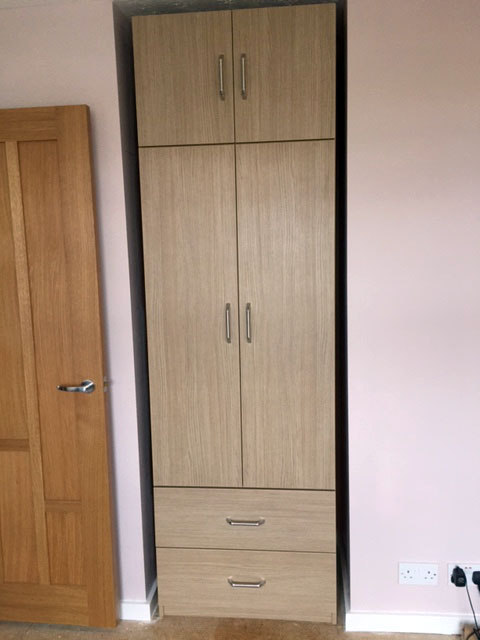 Tall unit  in Aragon Oak without scribes